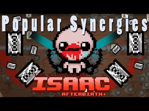 The Binding of Isaac Afterbirth Plus | Floating Chainsaws | Popular Synergies!