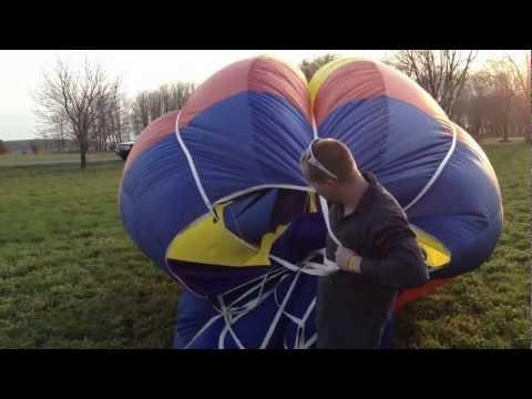 Zan Freeman Deflating the Balloon after a Great Flight Apr 13, 2012