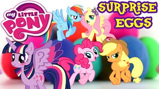 ♥ My Little Pony Friendship Is Magic Play Doh Surprise Eggs Mlp Collection Toys For Children