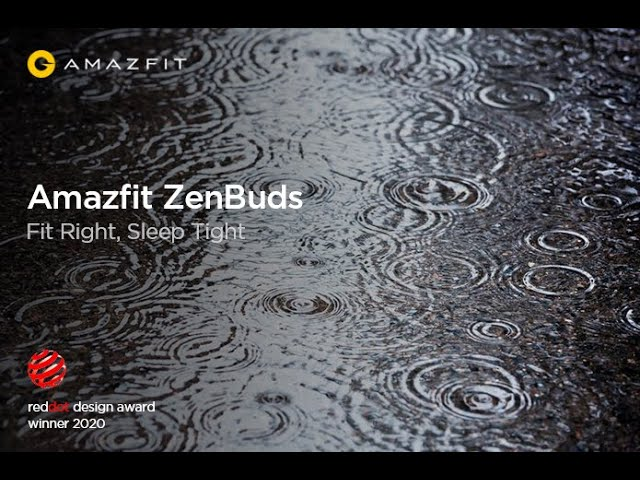 Amazfit ZenBuds: Soothing Sound Library