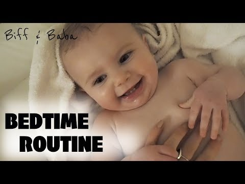 OUR BEDTIME ROUTINE | MUM/MOM OF ONE | 7 MONTH OLD BABY - Biff & Baba