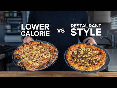How to make a lower calorie Personal Pizza that still tastes good.