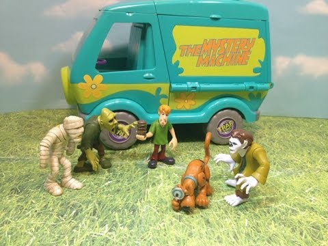 Scooby Doo Five Figure Pack Who Dunnit Pack The Scooby Doo  Video Toy Review