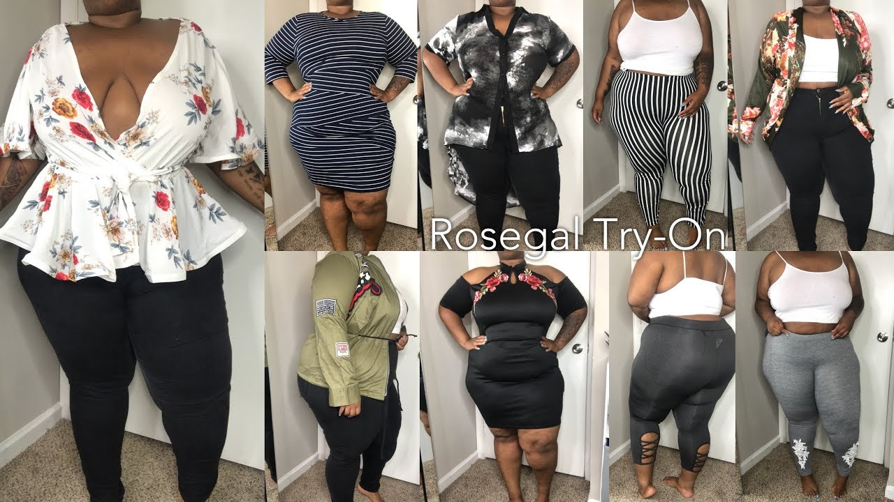 Issa Try On Haul Ft Rosegal Plus Size Apparel 2017 Youtube