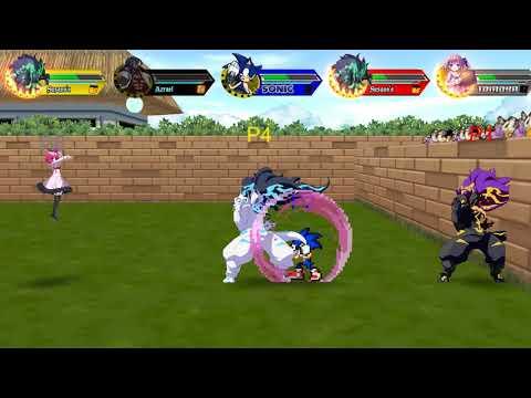 Battle Cross FEVER v0.47 - Discord Parsec Netplay 5p Budokai 2 - 동영상