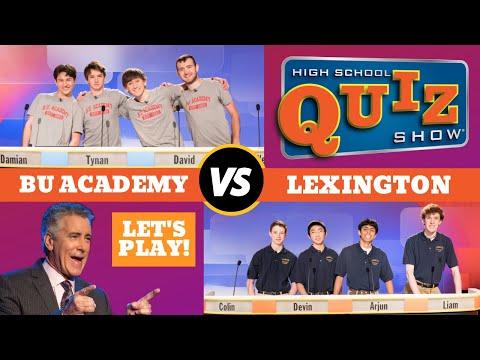 High School Quiz Show - B.U. Academy vs. Lexington (602)