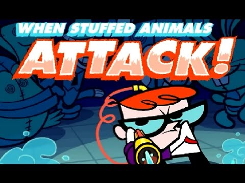 Dexter's Laboratory: When Stuffed Animals Attack! – (Cartoon Network Games)