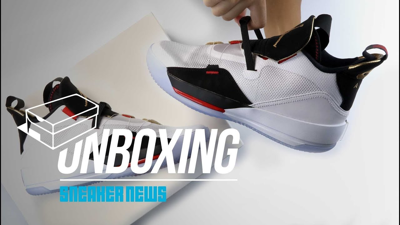best loved ec687 a4308 Jordan 33 Unboxing + Review. Sneaker News