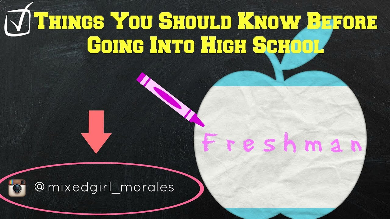 What should I expect going into high school?