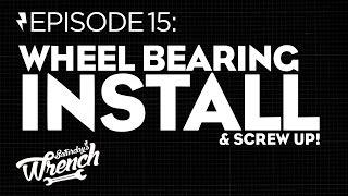 Saturday's Wrench Ep.15: Honda Cb350 Build - Wheel Bearing Install