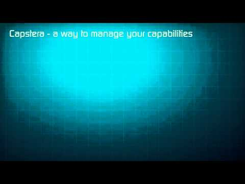 Capstera Business Capability Software Product Overview