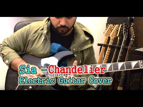 Chandelier Electric Guitar cover | Cover by Naushad | Line 6 Helix ...