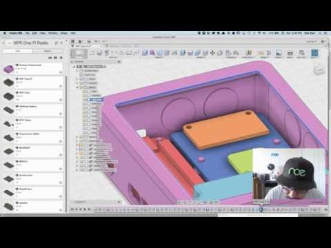 Layer by Layer LIVE - Using and Making Components in Fusion 360