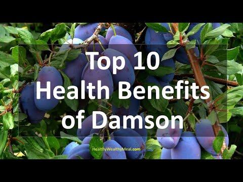 Top 10 Health Benefits of Damson Plums | Healthy Wealthy Tips