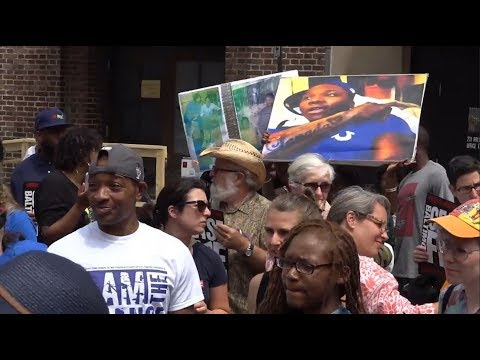 Activists declare three day Baltimore ceasefire 'a success'