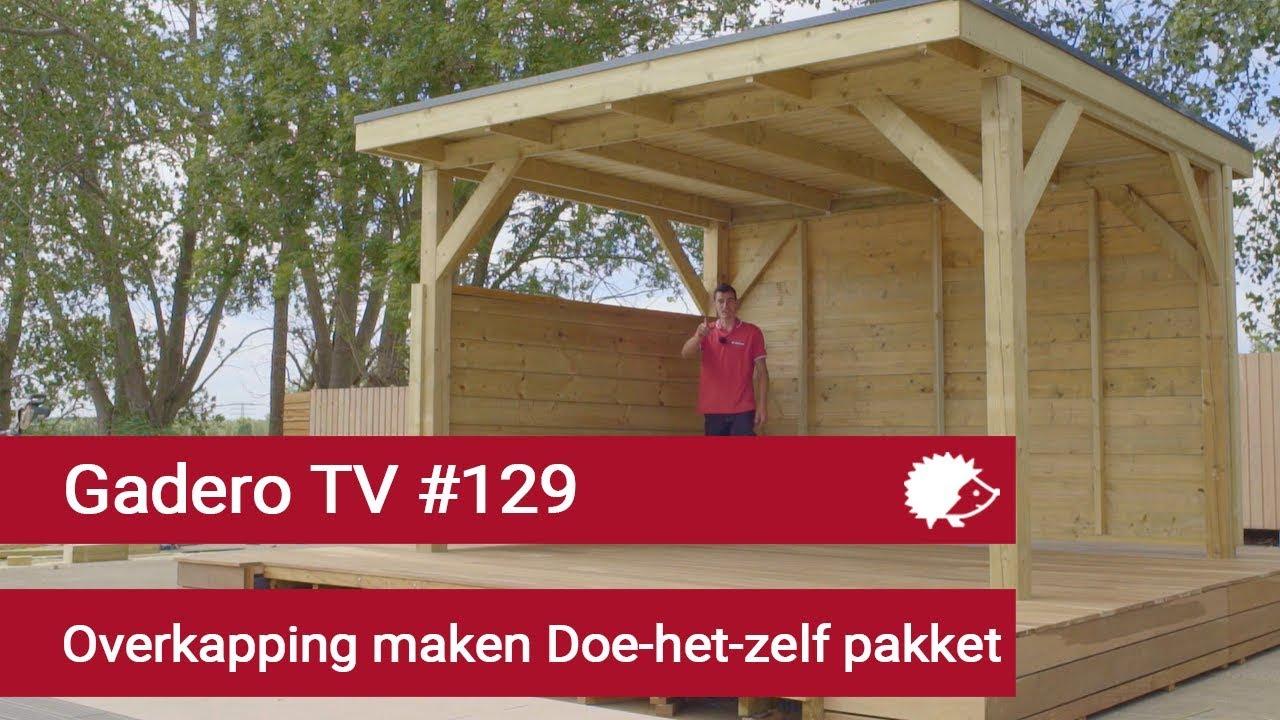 Wonderbaarlijk 129 Overkapping maken doe-het-zelf bouwpakket - YouTube HO-23