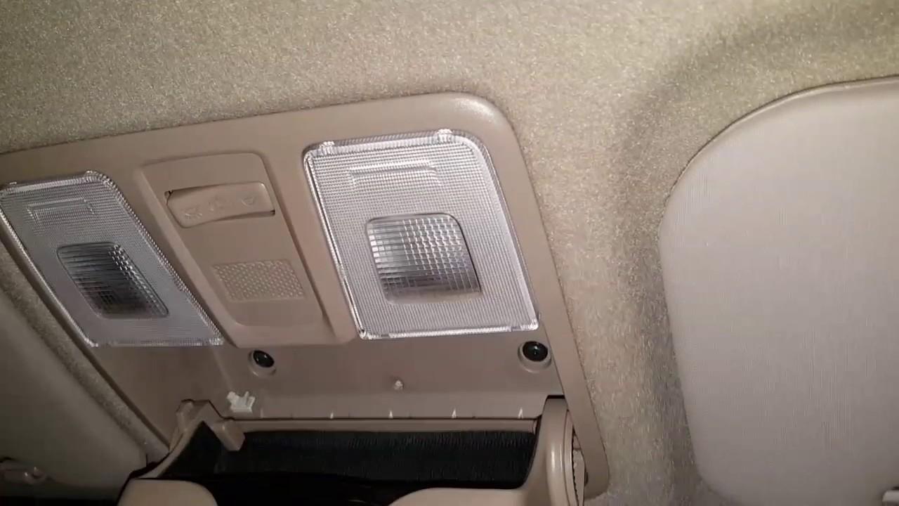 Hyundai Elite I20 Interior Lights Replacement YouTube