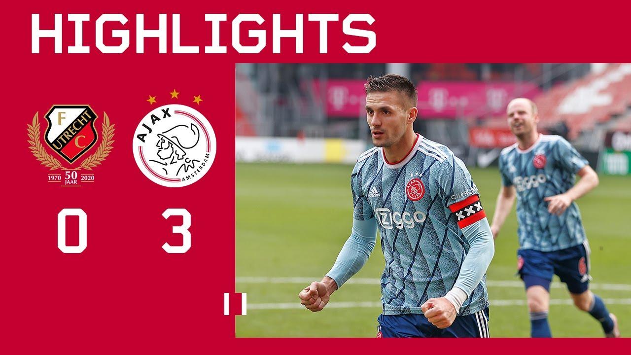 Highlights Fc Utrecht Ajax Eredivisie Youtube