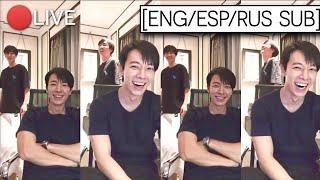 "Gambar cover [ENG/ESP/RUS SUB] Lee Donghae ""잘자요"" ft. Hyukjae YouTube LIVE Stream - 191124"
