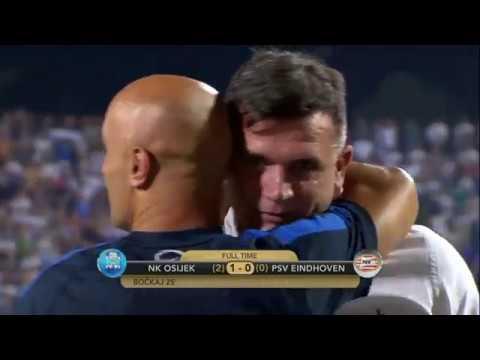 HNTV sažetak: NK OSIJEK vs PSV EINDHOVEN 1:0 (uzvratna utakmica 3. pretkola EL)