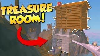 Ylands - CAVES & TREASURE ROOM! - Ylands Multiplayer Gameplay & Building