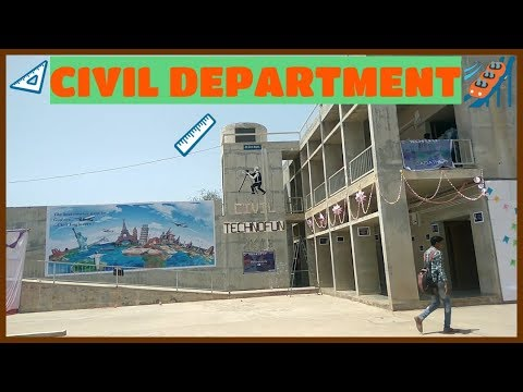 Techno Fun 2018 || Civil Department  || Government polytechnic college || Bhuj || GTU