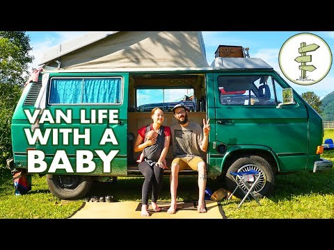 Camper Van Travel with a Baby - Family Van Life