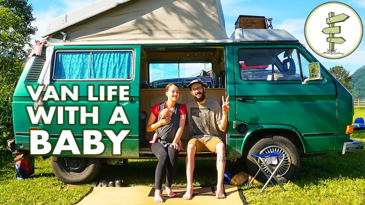 Camper Van Travel with a Baby - It's Family Van Life
