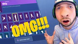 OMG NEW LEAKED WHIP EMOTE!!! | Fortnite Fortnite
