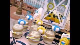 Creative Nautical baby shower decorations