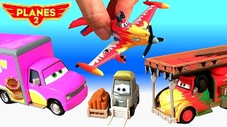 Disney Planes2 NEW Diecasts Vitaminamulch Gift Pack & Zed Custard