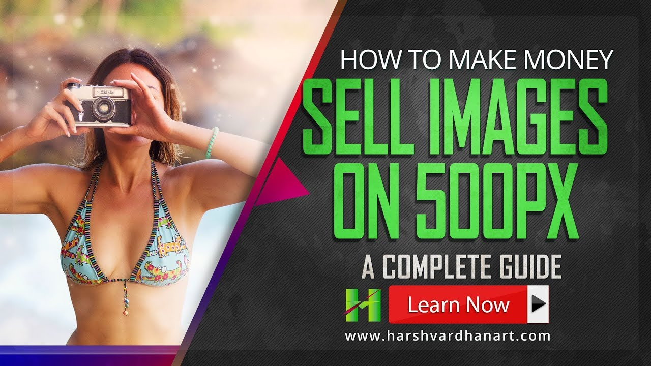 how to make money selling photos