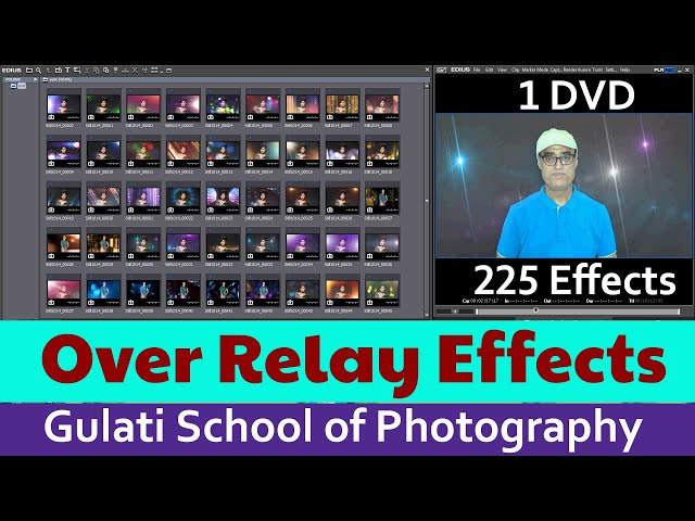 08 Over Relay Effects For Edius Software | Pre Wedding Effects | Alpha Effects | ( 225 Effects )