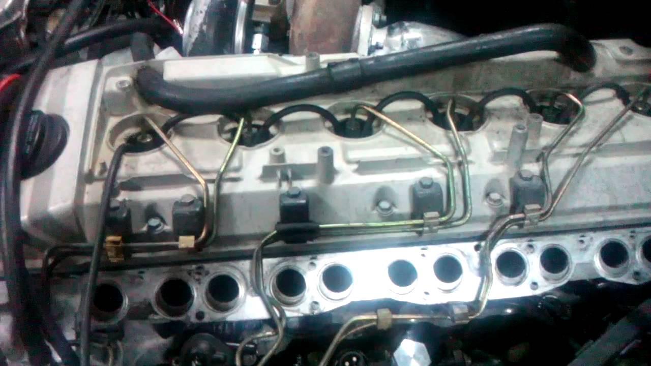 OM606, 8mm elements, dieselmeken pump, cold start