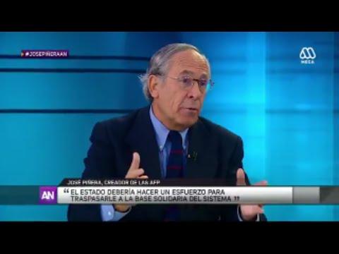 José Piñera, el padre de las AFP en AhoraNoticias de Mega - Miércoles 3 de Agosto 2016