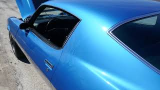 1970 Chevrolet Camaro - CALIFORNIA - Z28 - MULSANNE BLUE - FOR SALE