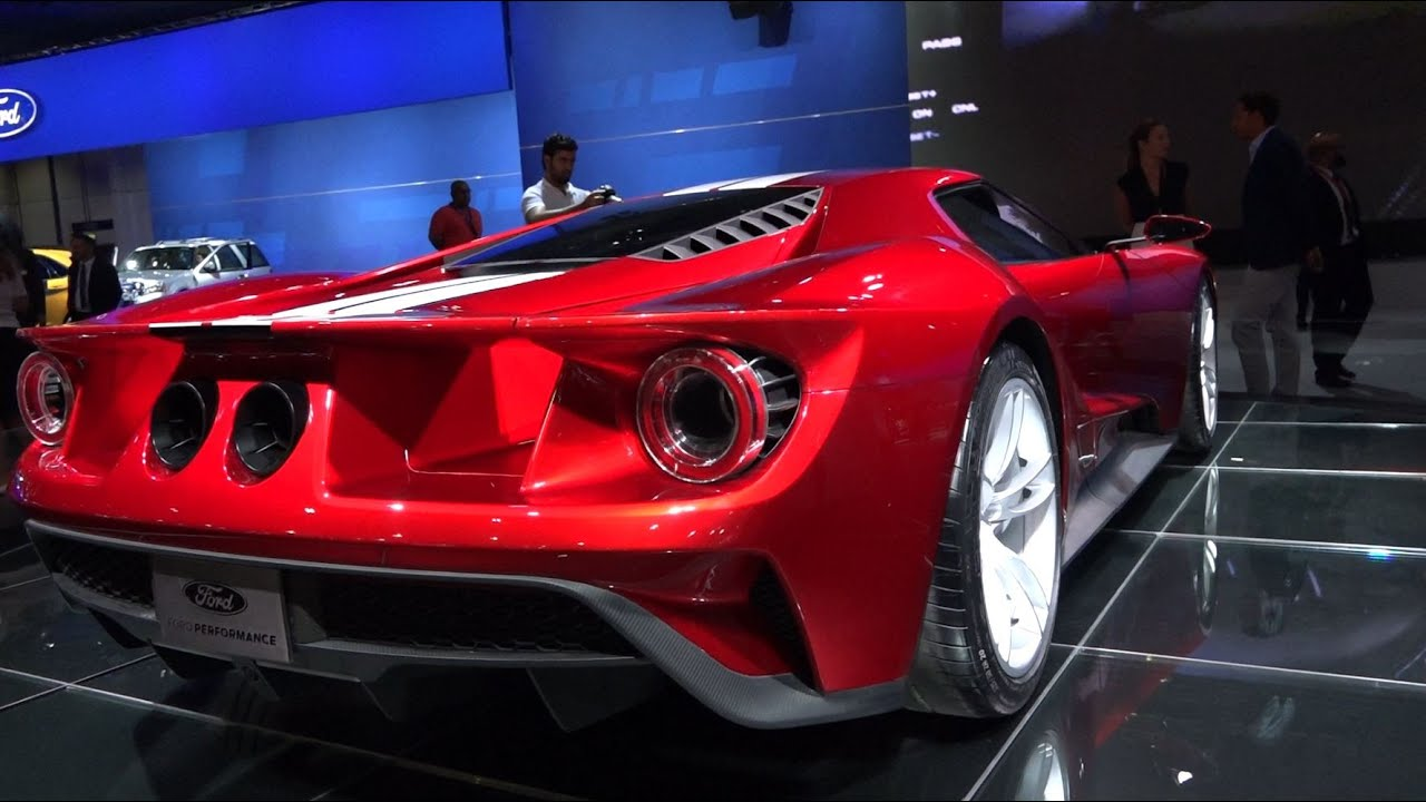 All New Ford Gt Dubai Motor Show