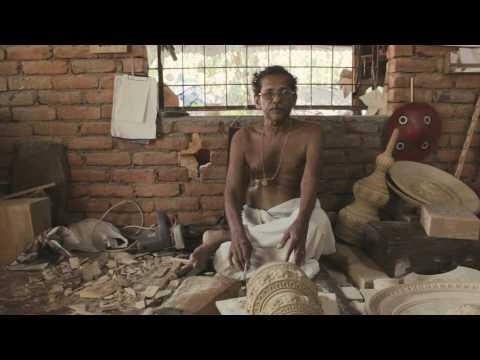 Kireedum   Documentary on the World's only Kathakali Headgear making Artisan - Kothavil Ramankutty