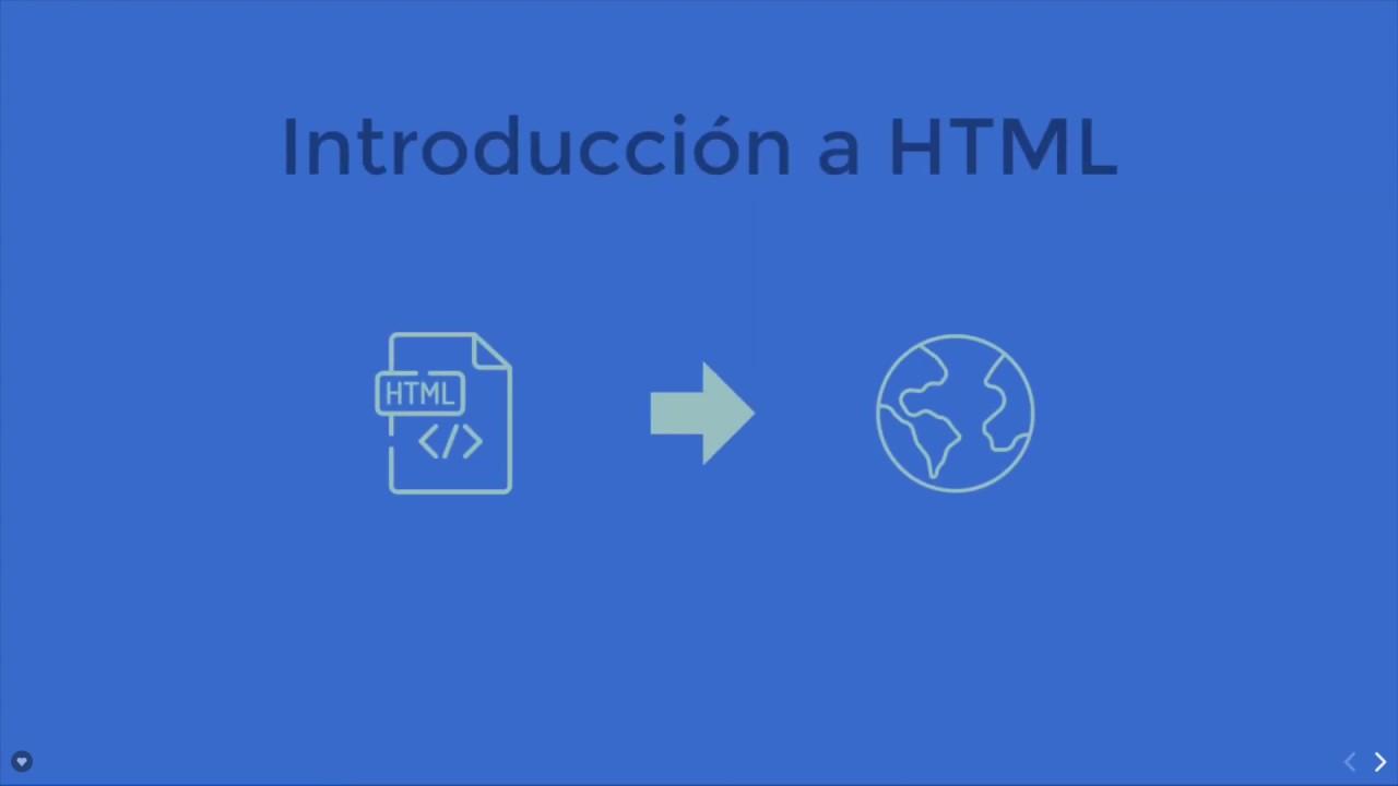 Introduccion A Html