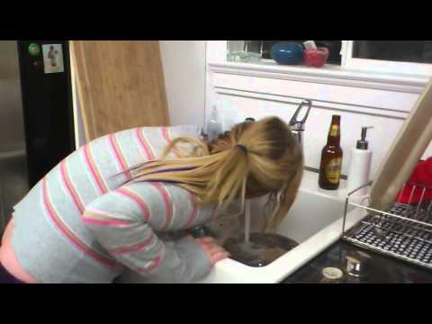 Puke girl from YouTube · Duration:  57 seconds