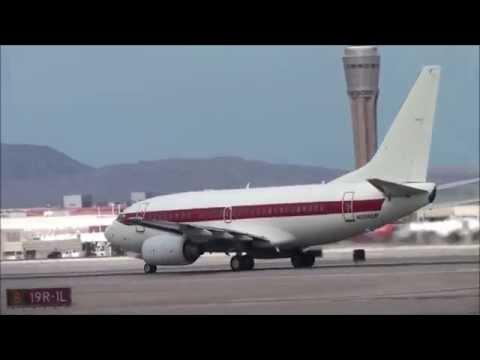 Janet Airlines Boeing 737-600 [N288DP] takeoff from Las Vegas