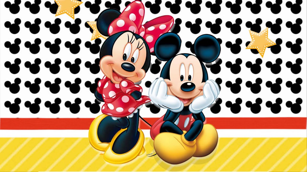 Projeto Para Retrospectiva Mickey E Minnie 60 Fotos Youtube