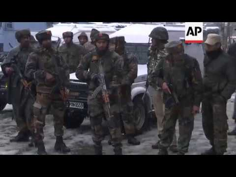 Troops move in after gunmen open fire in Indian-controlled Kashmir