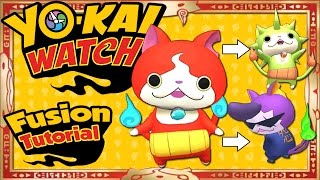 Yo-Kai Watch - ALL 27 Yo-Kai Fusions + ALL 16 Item Fusions! [Tips & Tricks]