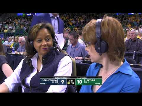 2019/03/25 Second Round NCAA Women's Basketball #8 California Vs #1 Baylor