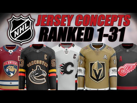 NHL Jersey Concepts Ranked 1-31! #5