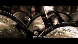 Battle of Thermopylae scene from the movie 300