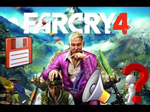 Far Cry 4 - Решение проблемы с сохранением и звуком.