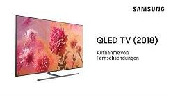 Samsung QLED TV 2018: Aufnahme von Fernsehsendungen