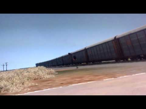 Fast Union Pacific in Whyoming